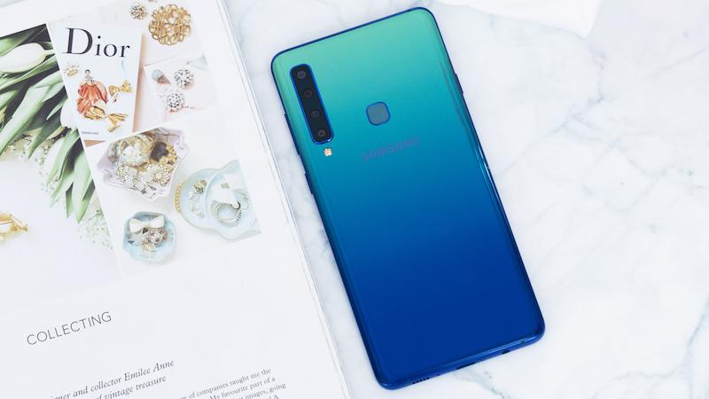 Thiết kế điện thoại Samsung Galaxy A9 2018 chính hãng