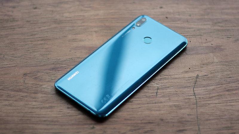 Thiết kế điện thoại Huawei Y9 2019