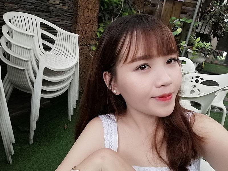 Ảnh selfie trên điện thoại Huawei Y9 2019 chính hãng