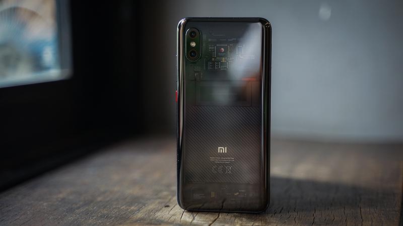 Mặt lưng điện thoại Xiaomi Mi 8 Pro chính hãng