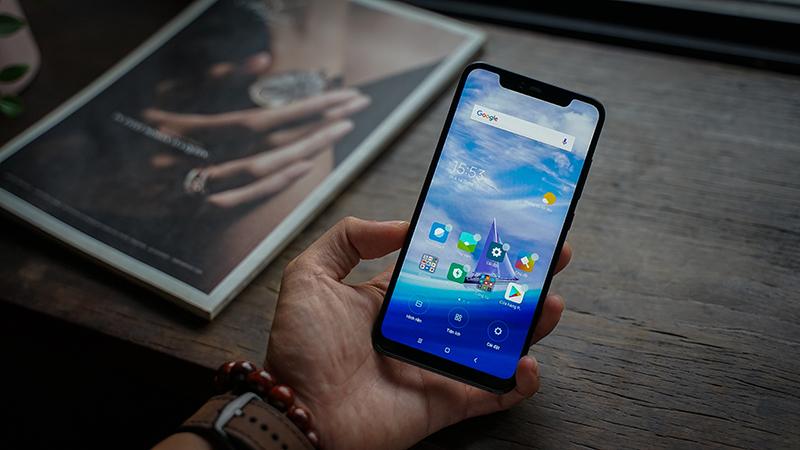Mở khoá khuôn mặt điện thoại Xiaomi Mi 8 Pro chính hãng