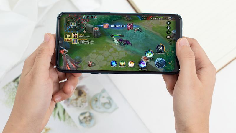 Khả năng chơi game mạnh mẽ trên điện thoại OPPO A7 chính hãng
