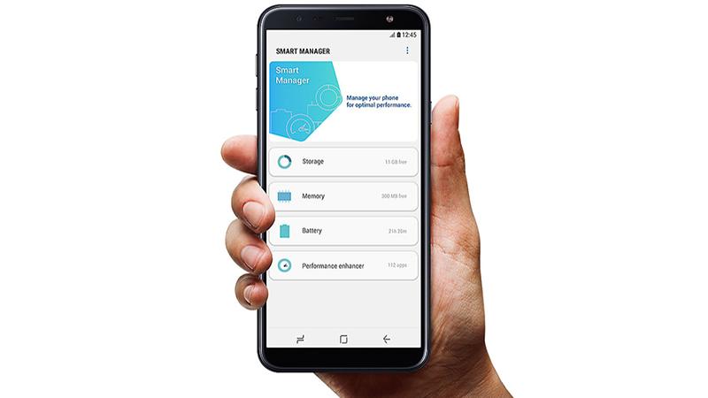 Trải nghiệm điện thoại Galaxy J4 Core chính hãng