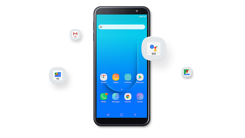 Android Go trên điện thoại J4 Core chính hãng
