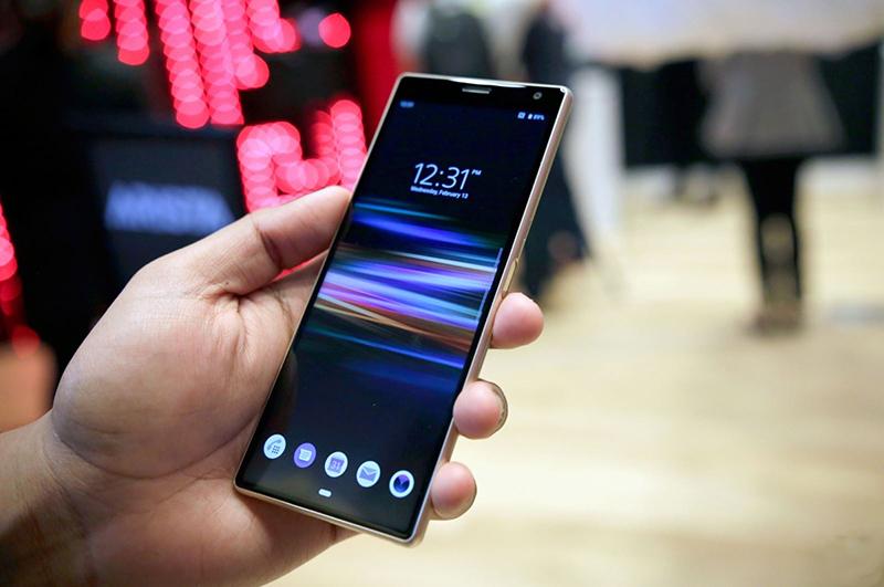 Cấu hình của điện thoại Sony Xperia 10 chính hãng