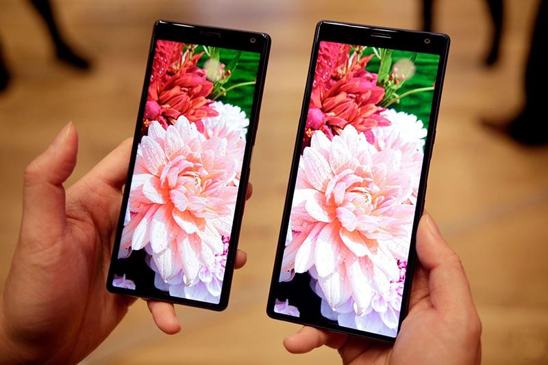 Màn hình của điện thoại Sony Xperia 10 Plus chính hãng