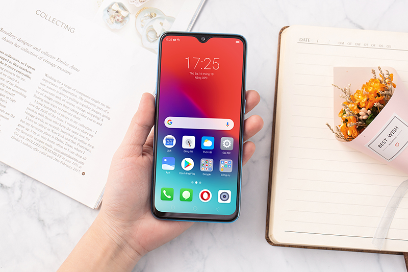 Giao diện Android của điện thoại Realme 2 Pro