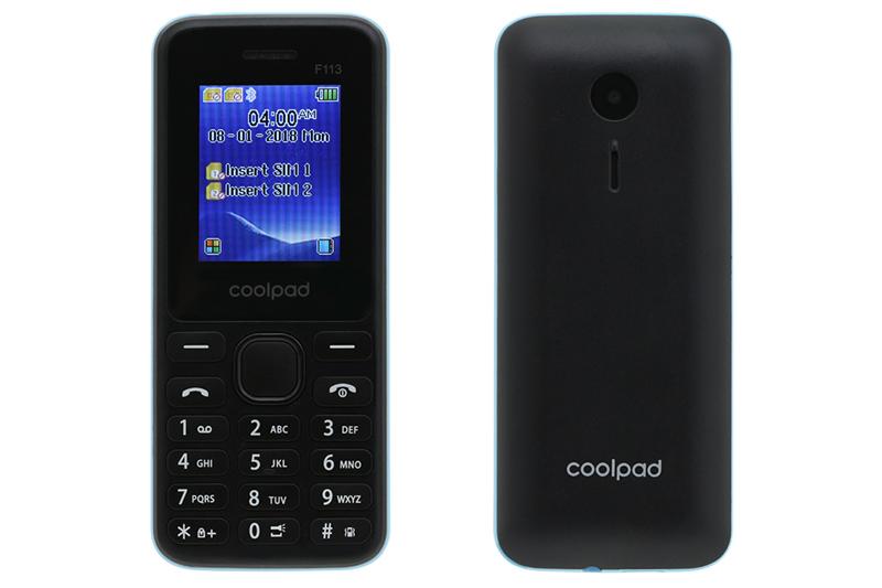 Thiết kế điện thoại Coolpad F113 chính hãng