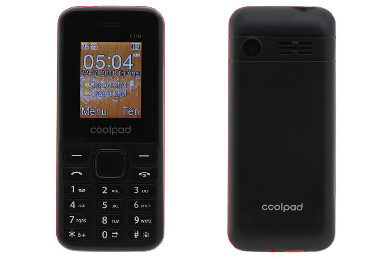 Tổng thể thiết kế của Coolpad F116