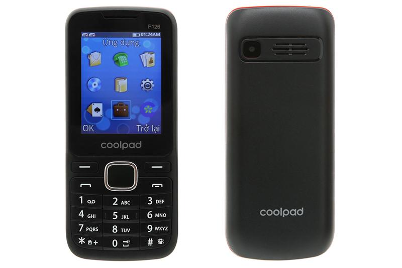 Thiết kế điện thoại Coolpad F126 chính hãng