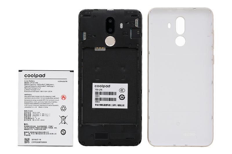 Thời lượng pin của điện thoại Coolpad N3