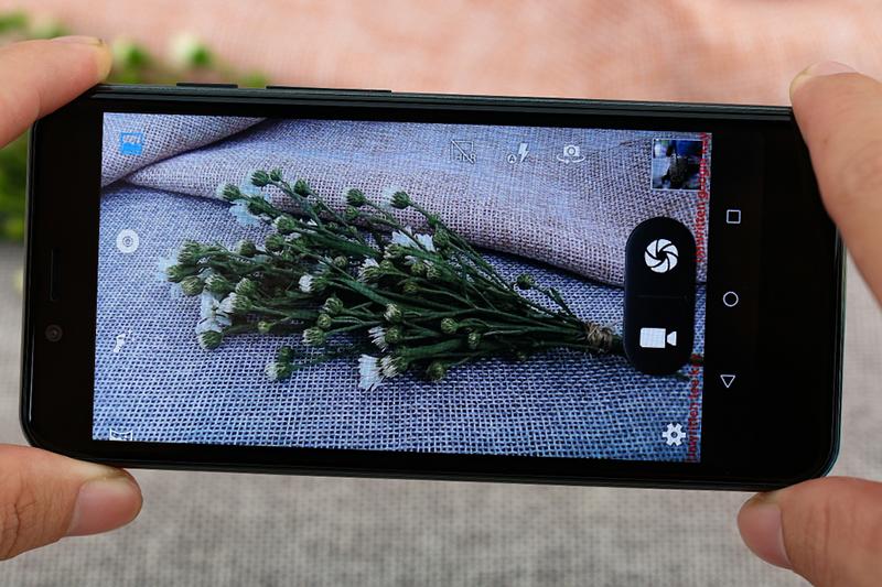 Giao diện camera điện thoại Coolpad N3 mini