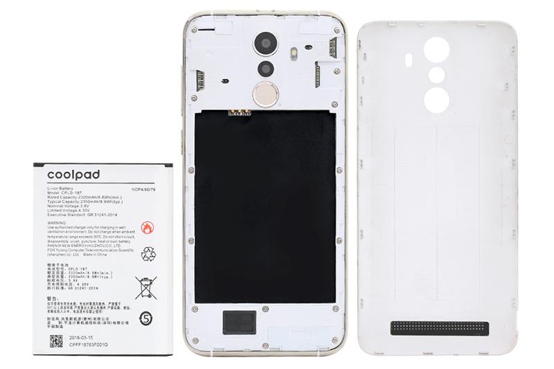 2 SIM 2 sóng của điện thoại Coolpad N3D
