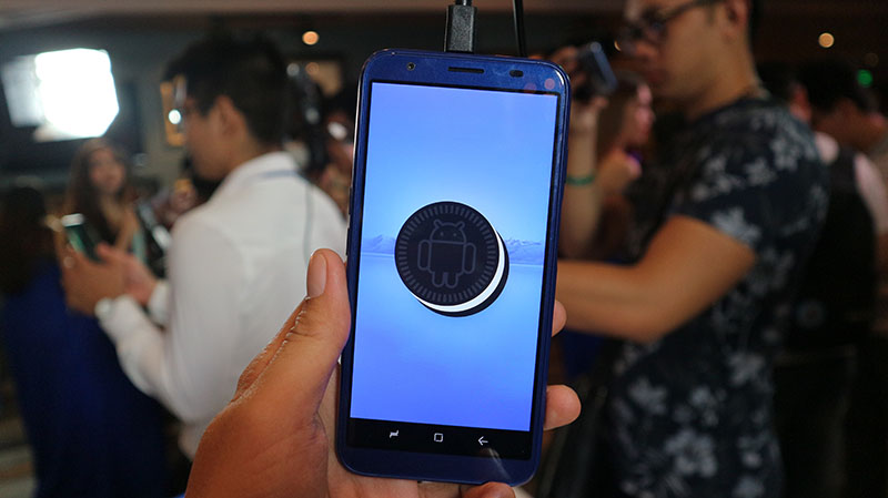 Android 8.1 trên Asanzo S3 Plus