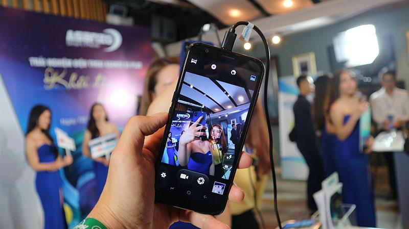 Các chế độ chụp ảnh trên Asanzo S3 Plus