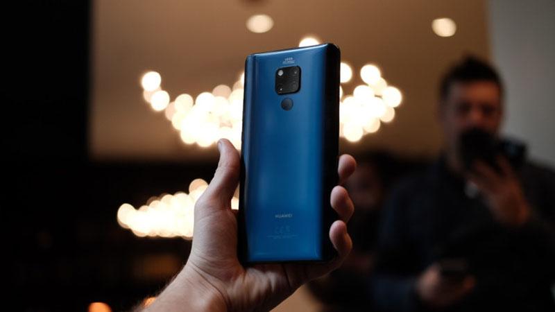 Camera sau của điện thoại Huawei Mate 20 X