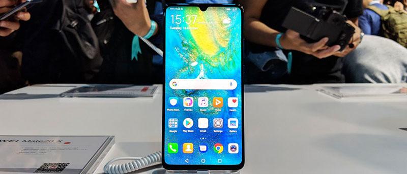 Cấu hình của điện thoại Huawei Mate 20 X