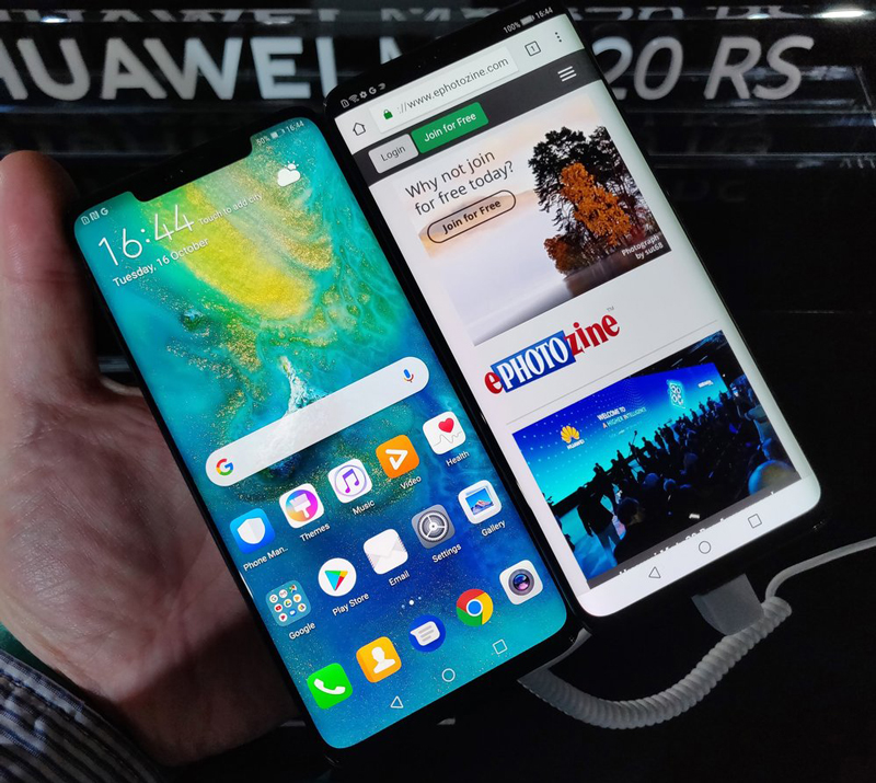 Giao diện Android 9.0 trên Huawei Mate 20 RS Porsche Design