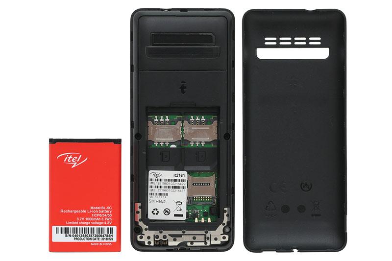 Thời lượng pin của điện thoại Itel It2161