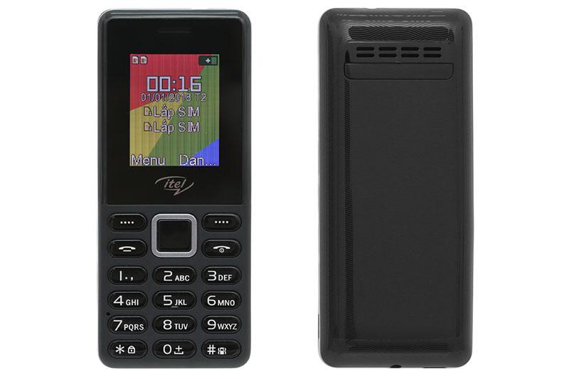 Thiết kế của điện thoại Itel It2161