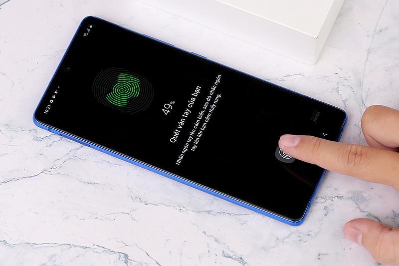 Điện thoại Samsung Galaxy S10 Lite | Cảm biến vân tay
