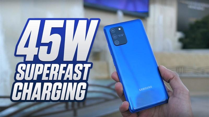 Điện thoại Samsung Galaxy S10 Lite | Thời lượng pin