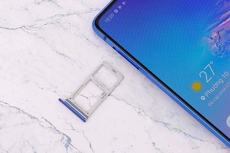 Điện thoại Samsung Galaxy S10 Lite | Khay sim