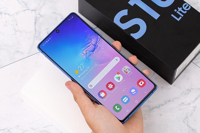 Điện thoại Samsung Galaxy S10 Lite | Thiết kế