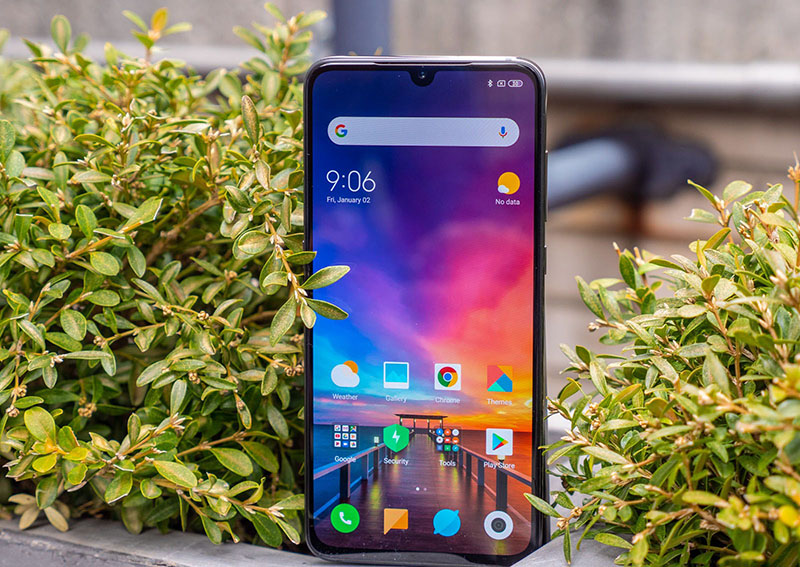 Màn hình của điện thoại Xiaomi Mi 9 chính hãng