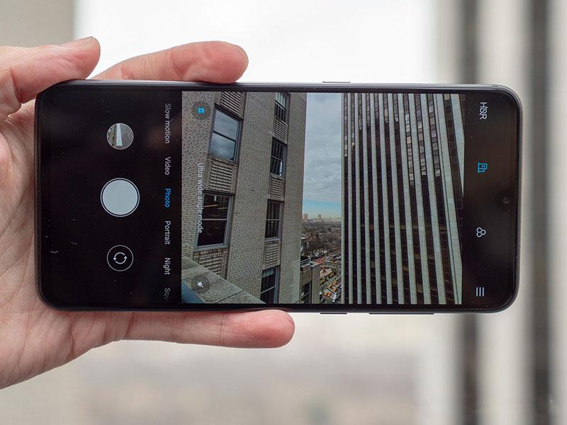 Camera sau của điện thoại Xiaomi Mi 9 chính hãng
