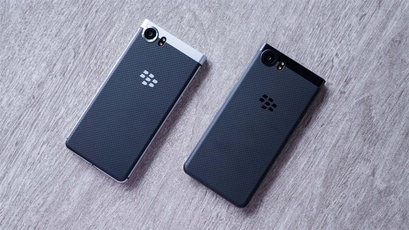 Thiết kế của điện thoại BlackBerry KEYone 3GB/32GB chính hãng