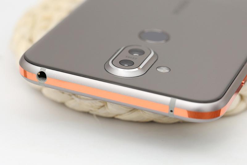 Thiết kế điện thoại Nokia 8.1 (Nokia X7) chính hãng