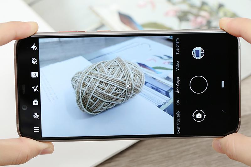 Giao diện camera điện thoại Nokia 8.1 (Nokia X7) chính hãng