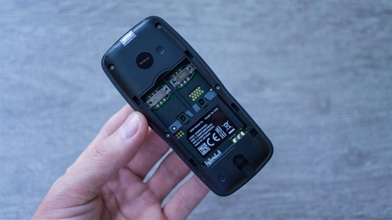 Khe sim điện thoại Nokia 106 2018 Dual Sim chính hãng