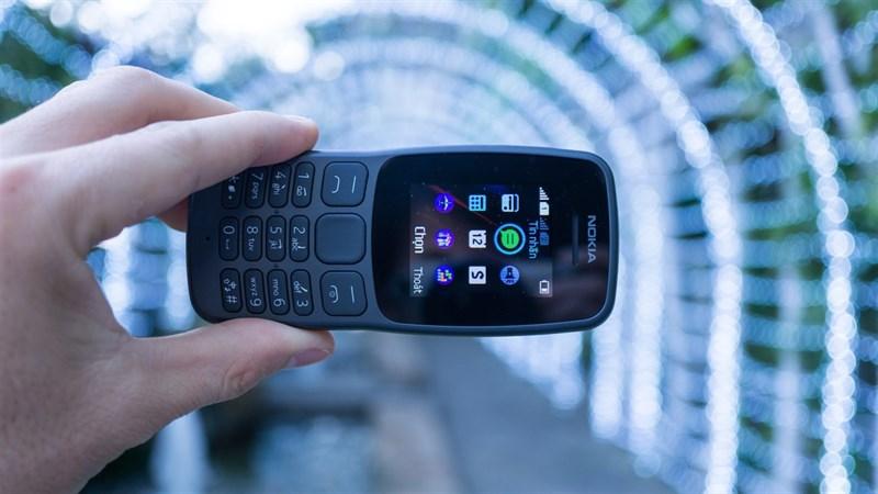 Thiết kế điện thoại Nokia 106 2018 Dual Sim chính hãng
