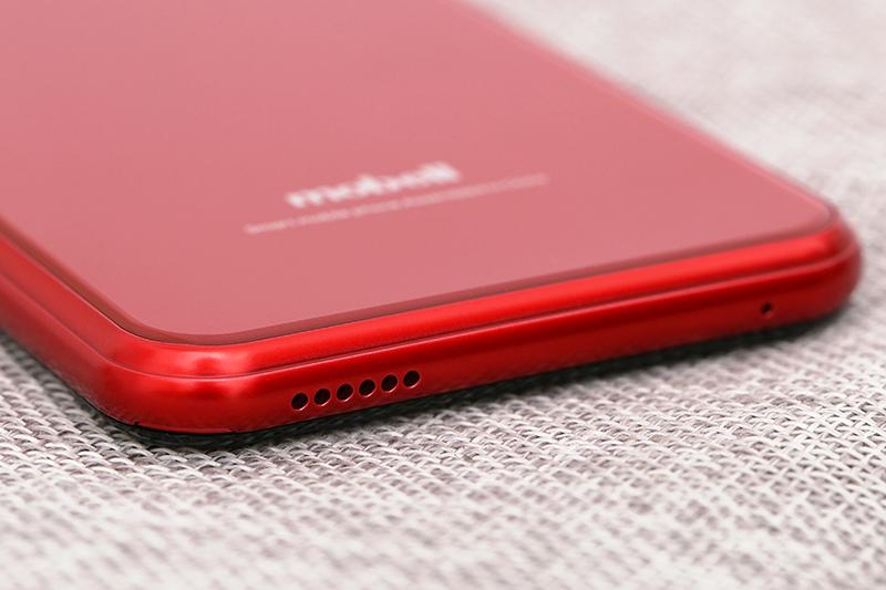 Thiết kế mặt lưng trên điện thoại Mobell S51 chính hãng