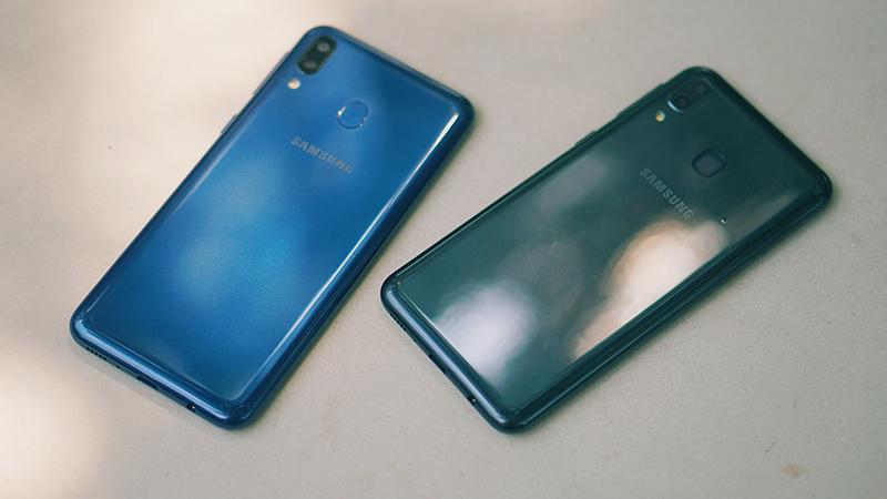 Thiết kế điện thoại Samsung Galaxy M20 chính hãng