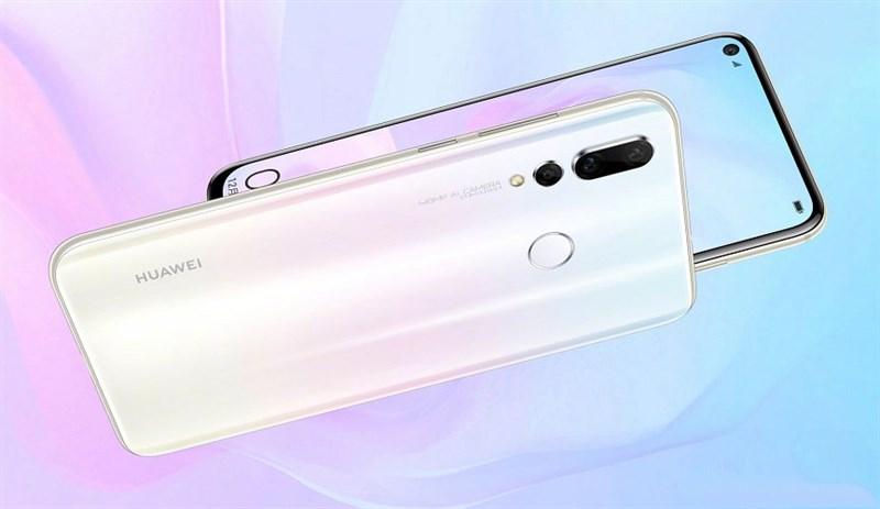 Cụm camera Sony trên Huawei Nova 4 chính hãng