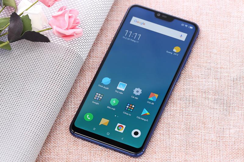 Giao diện Android điện thoại Xiaomi Mi 8 Lite 6GB chính hãng