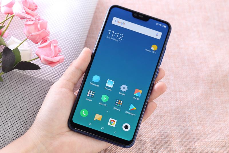 Màn hình điện thoại Xiaomi Mi 8 Lite 6GB chính hãng