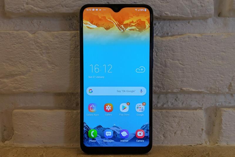 Giao diện Android điện thoại Samsung Galaxy M10 chính hãng