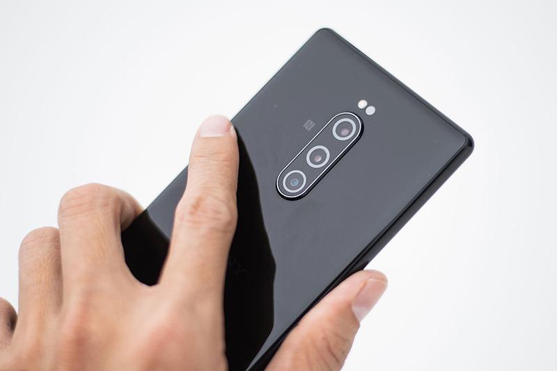 Camera sau của điện thoại Sony Xperia 1 chính hãng