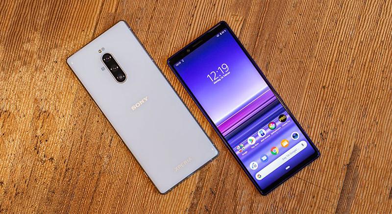 Thiết kế của điện thoại Sony Xperia 1 chính hãng