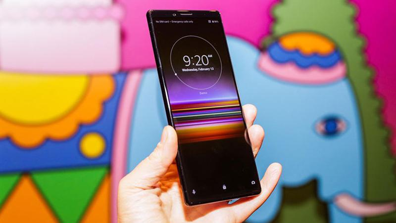 Màn hình của điện thoại Sony Xperia 1 chính hãng