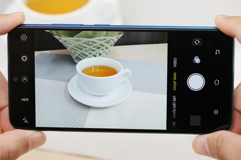 Giao diện camera điện thoại Vivo Y91 chínhh hãng