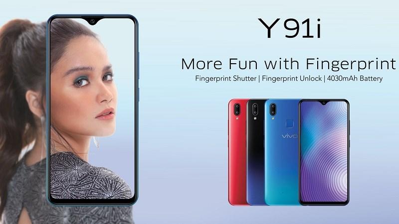 Phone - ទូរស័ព្ទ Vivo Y91i - រចនាទាន់សម័យ