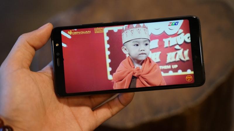 Chất lượng hiển thị trên điện thoại Vsmart Active 1 chính hãng
