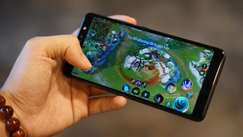 Hiệu năng mạnh mẽ trên điện thoại Vsmart Active 1 chính hãng