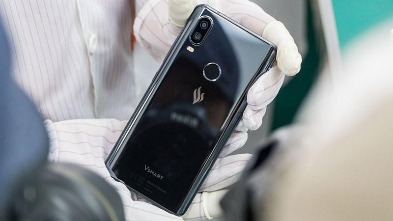 Măt lưng điện thoại Vsmart Active 1+ chính hãng