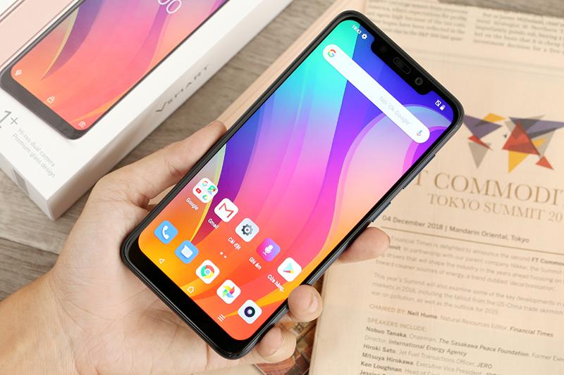 Giao diện trên điện thoại Vsmart Active 1+